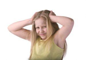 איבוד שיער בילדים